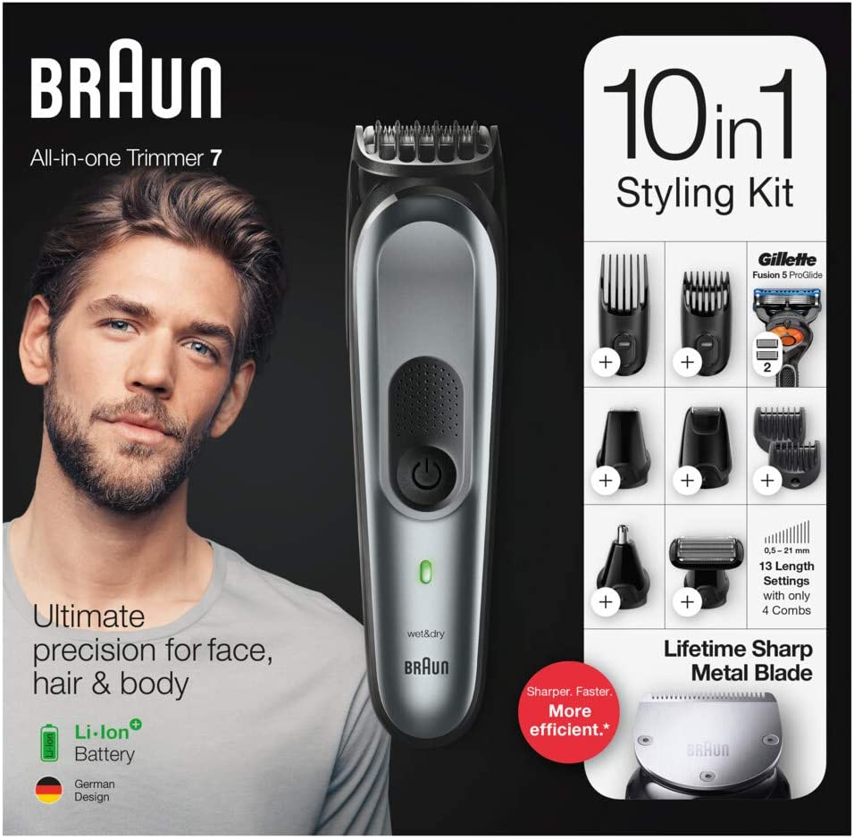 Braun MGK7221 Kit 10 in 1